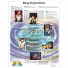 Drug Dependence Chart, 1001618 [VR1781L], Drug and Alcohol Education