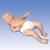 Standard Ready-or-Not Tot® - White Male, 1017931 [W44214], Neonatal Patient Care (Small)
